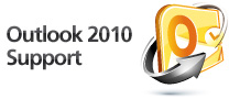 Outlook 2010 Support